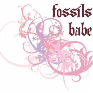 Fossils Babe Photo Sculpture Ornament