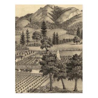 Fossville Res de Clark Foss, valle de los caballer Tarjeta Postal
