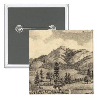 Fossville Res of Clark Foss, Knights Valley Pinback Button