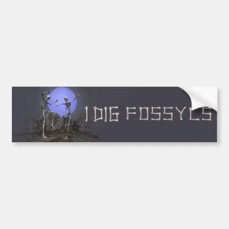 Fossyls Bumper Sticker