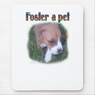 Foster a pet mouse pad