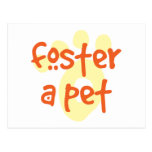 Foster a Pet Postcards