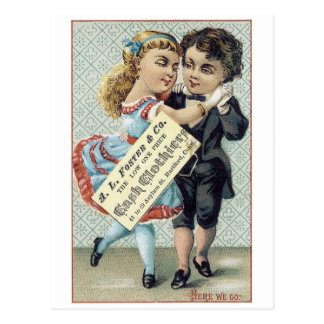 Foster and Company Cash Clothiers Postcard
