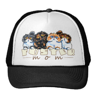 Foster Cat Mom Hats