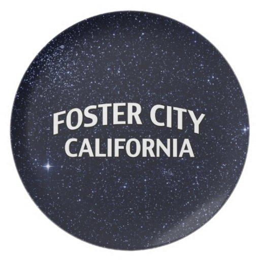 Foster City California Plate