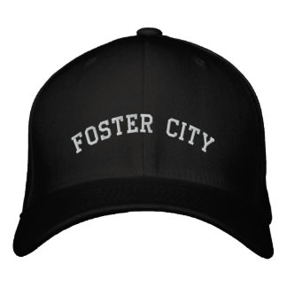 Foster City Embroidered Baseball Cap
