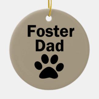 Foster Dad Ceramic Ornament