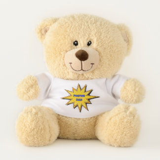 Foster Dad - Forever Family - Adpotion Design Teddy Bear