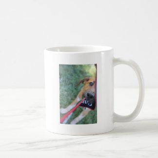 Foster Dog Tug of War Coffee Mug