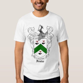 Foster Family Coat of Arms Shirts