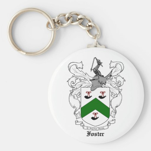 Foster Family Crest Keychain