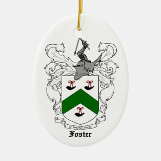 Foster Family Crest Ornament