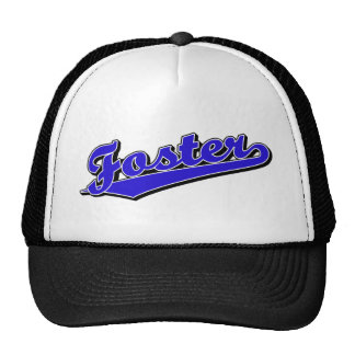 Foster in Blue Hats