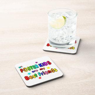 Foster Kids Best Friends Beverage Coasters