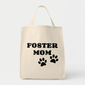 Foster Mom Grocery/Tote Bag