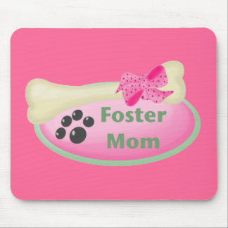 Foster Mom (pink) Mouse Pad