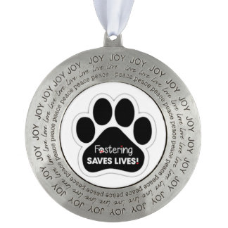 Fostering Animals Ornament
