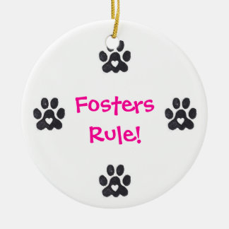 Fosters & Rescues Rule Ornament