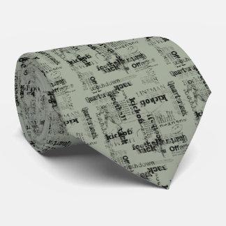 Fotball Sports Theme Tie