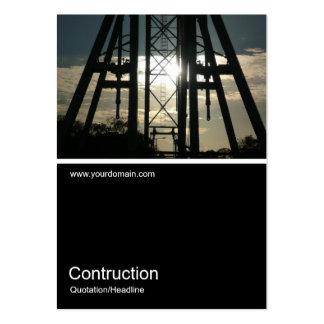 Foto 0108 de Half&Half - Contructing la rueda Tarjetas De Visita Grandes