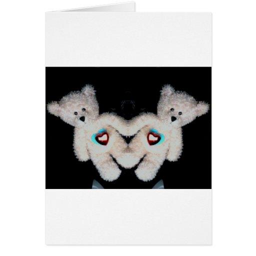 foto 10102 de los osos de peluche de la tarjeta de