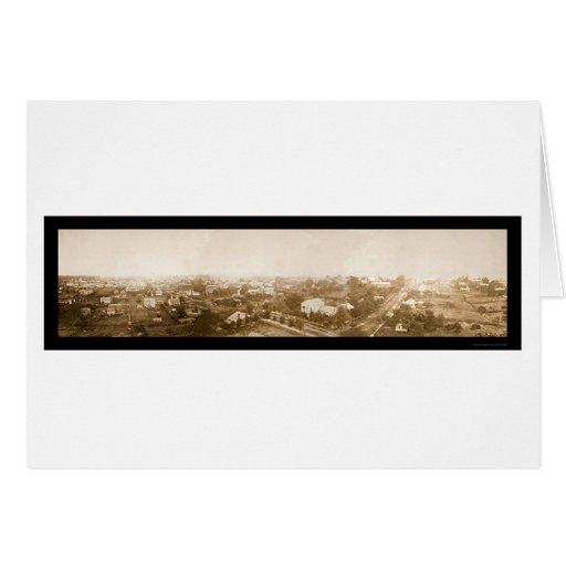 Foto 1864 de Atlanta de la guerra civil Tarjeta De Felicitación