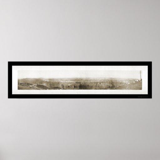 Foto 1864 de Knoxville TN de la guerra civil Póster