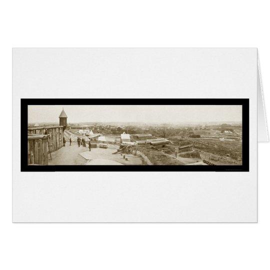 Foto 1864 de Nashville TN pie Negley Tarjeta De Felicitación