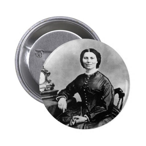 Foto 1866 del vintage del ~ del retrato de Clara B Pin
