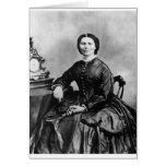 Foto 1866 del vintage del ~ del retrato de Clara B Tarjeta