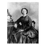 Foto 1866 del vintage del ~ del retrato de Clara B Tarjetas Postales