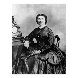 Foto 1866 del vintage del ~ del retrato de Clara Tarjetas Postales