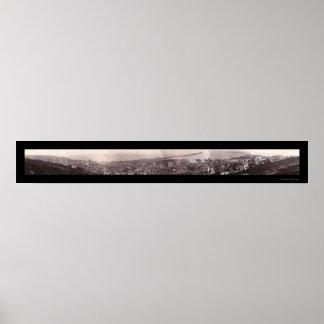 Foto 1886 del panorama del manganeso de Duluth Póster