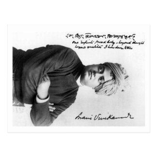 Foto 1893 de Vivekananda América del Swami en la p Postal