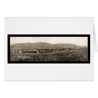 Foto 1898 del cazador NY de Catskill Mts Tarjeta De Felicitación