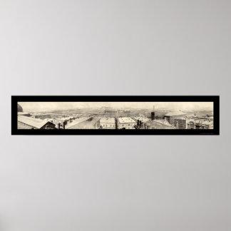 Foto 1899 de Chicago de los corrales Impresiones