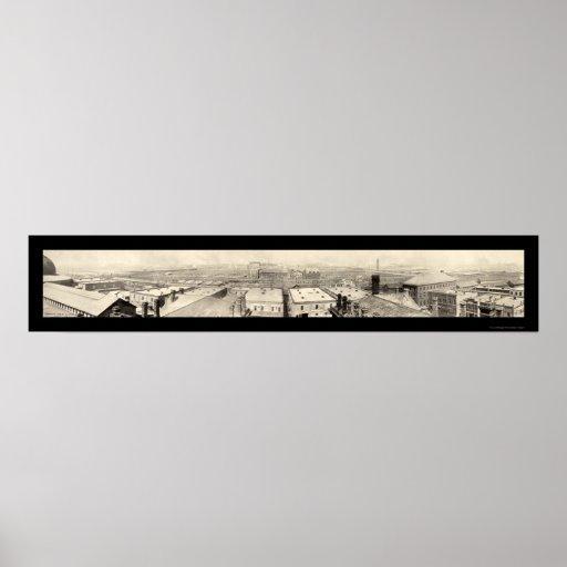 Foto 1899 de Chicago de los corrales Póster