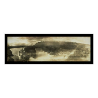 Foto 1899 de Paddlewheeler el Yukón Posters
