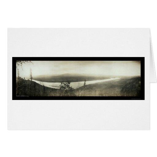 Foto 1899 del Yukón de la ciudad del terraplén Tarjetas