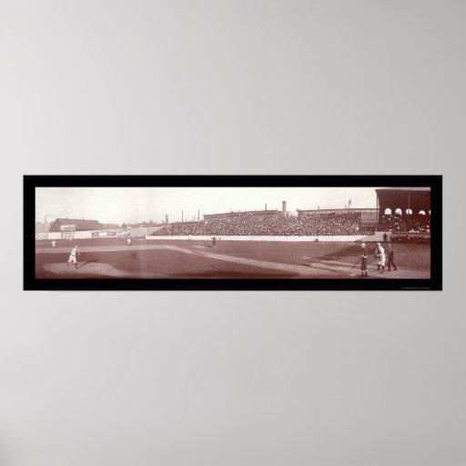 Foto 1903 de Boston Red Sox mA Póster
