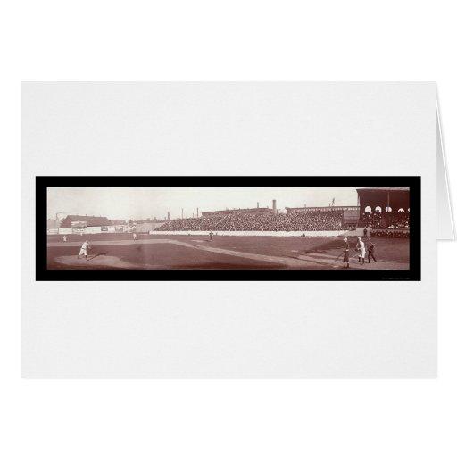 Foto 1903 de Boston Red Sox mA Tarjeta De Felicitación