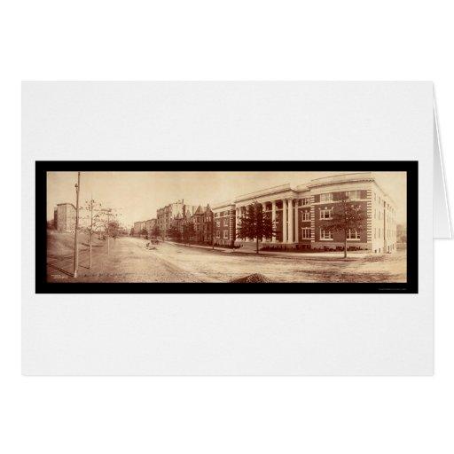Foto 1903 de Brookline mA Brandon Tarjeta De Felicitación