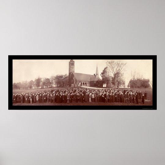 Foto 1903 de los estudiantes universitarios de los póster