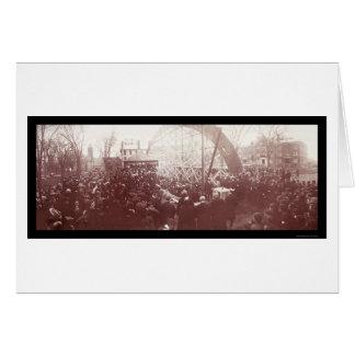 Foto 1904 de la piedra angular de Dartmouth Tarjeton