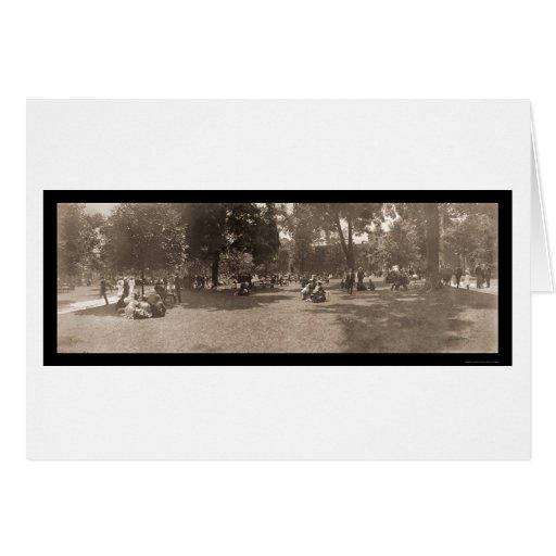 Foto 1904 del día de clase de la Universidad de Pr Tarjeton
