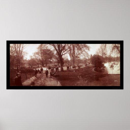 Foto 1904 del jardín público de Boston Impresiones