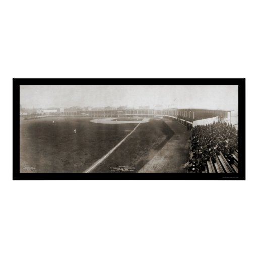 Foto 1905 de la primera jornada de Cincinnati Póster