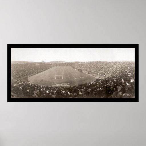 Foto 1905 del juego de Princeton Yale Póster
