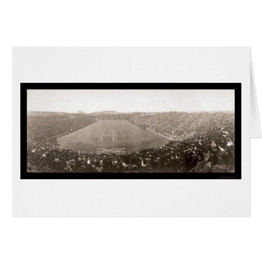 Foto 1905 del juego de Princeton Yale Tarjeta De Felicitación