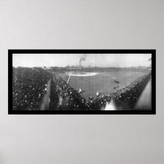 Foto 1906 de la serie de mundo de Chicago Póster